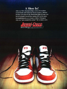 Michael Jordon sued Jewel-Osco over this congratulatory ad.