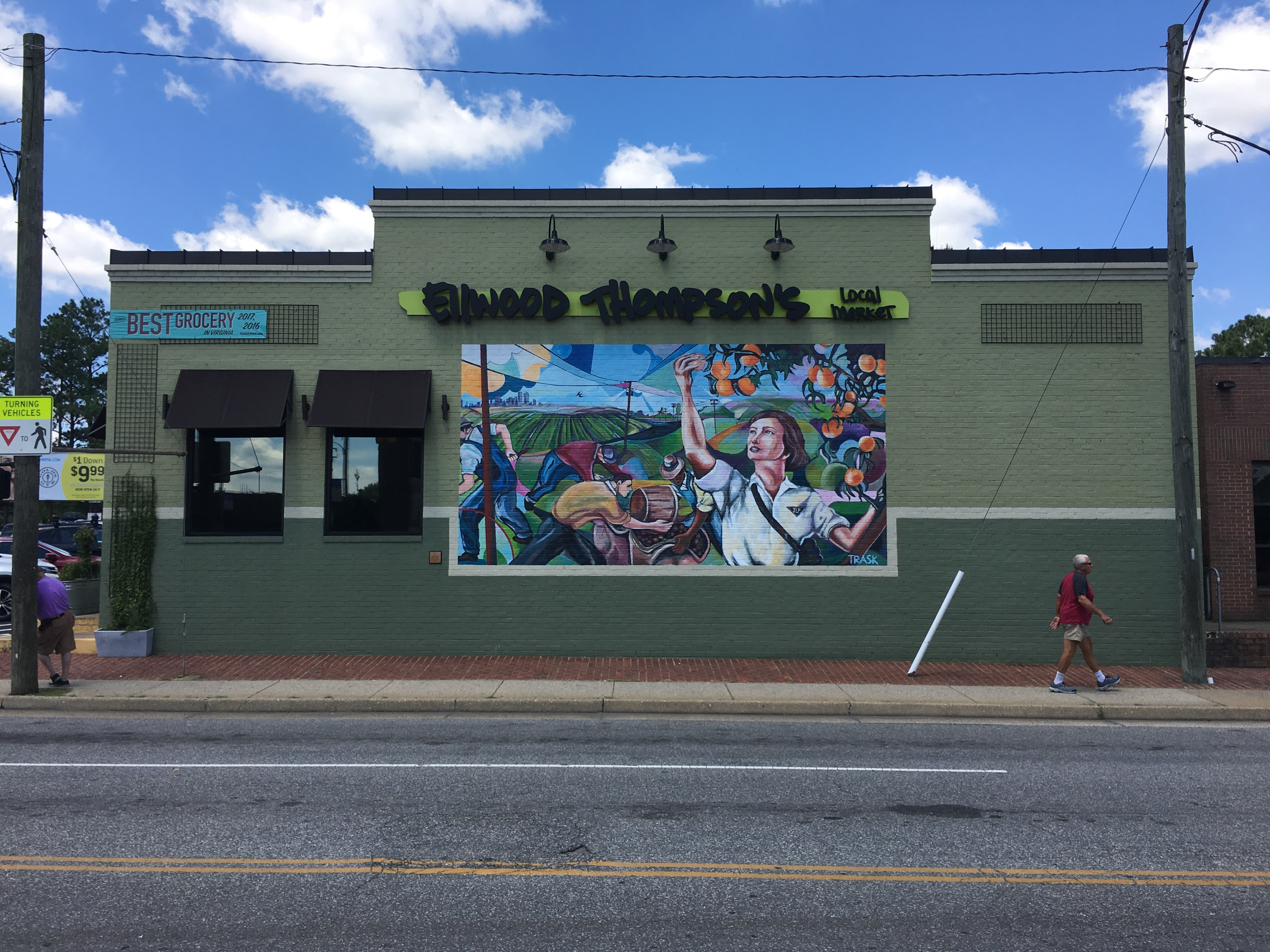 What would happen if ellwood thompsons decided to paint over that mural without trasks approval would it make a difference if trask had painted that